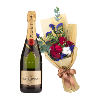 7roses with moet